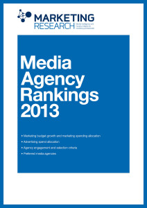 Media Agency Rankings 2013 Reports