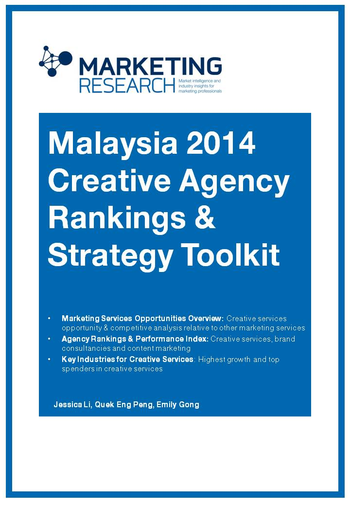 Malaysia creative agency rankings and strategy toolkit 2014 for Content marketing agency